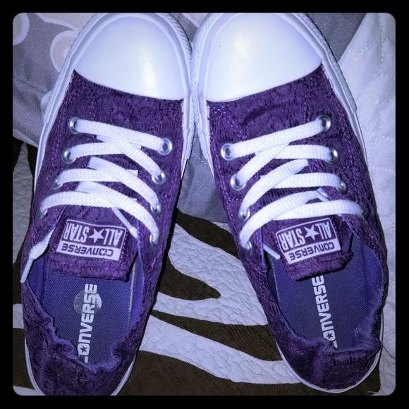 Converse Shoes | Purple Shoreline